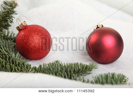Two Xmas Baubles
