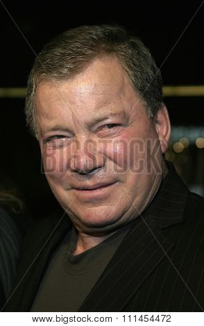 03/23/2005 - Hollywood - William Shatner at the