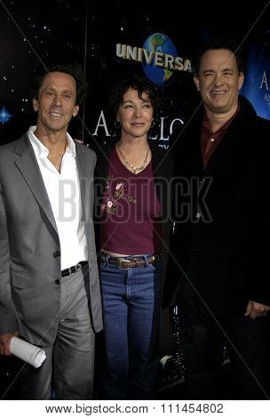 03/22/2005 - Los Angeles - Tom Hanks and Brian Grazer at the
