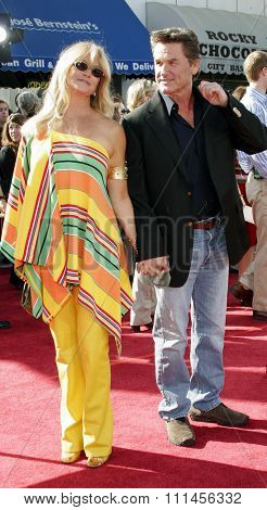 October 9, 2005 - Goldie Hawn and Kurt Russell at the