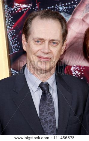 Steve Buscemi at the Los Angeles premiere of 'The Incredible Burt Wonderstone' held at the TCL Chinese Theater in Los Angeles, United States, 11/03/2013.