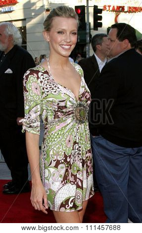 June 14, 2006. Katie Cassidy attends the Los Angeles Premiere of