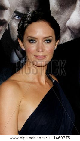 February 9, 2010. Emily Blunt at the Los Angeles premiere of