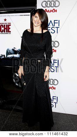 November 1, 2008. Julia Ormond at the 2008 AFI FEST Los Angeles Premiere of