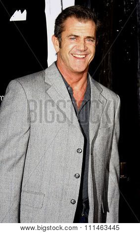 Mel Gibson attends the Los Angeles Premiere of