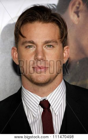 Channing Tatum at the Los Angeles premiere of 'Dear John' held at the Grauman's Chinese Theatre in Hollywood on Februaty 1, 2010.