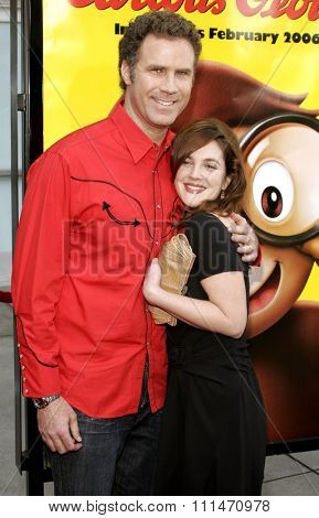 Will Ferrell and Drew Barrymore attend the World Premiere of