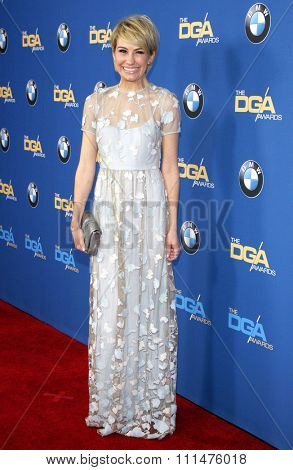 Chelsea Kane at the 66th Annual Directors Guild Of America Awards held at the Hyatt Regency Century Plaza Hotel in Los Angeles on January 25, 2014 in Los Angeles, California.