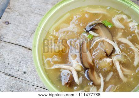 braised fish maw