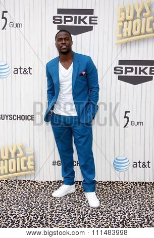 Kevin Hart at the 2013 Spike TV Guys Choice Awards held at the Sony Pictures Studios in Culver City in Los Angeles, United States, 080613.