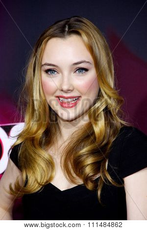 Victory Van Tuyl at the  2012 Halo Awards held at the Hollywood Palladium in Hollywood on November 17, 2012.