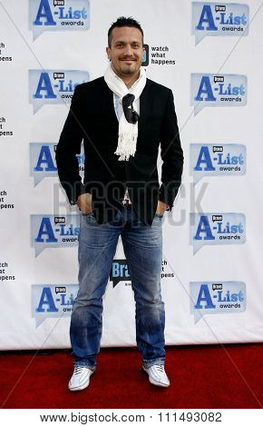 Fabio Viviani at the 2009 Bravo's A-List Awards held at the Orpheum Theatre in Los Angeles on April 5, 2009.