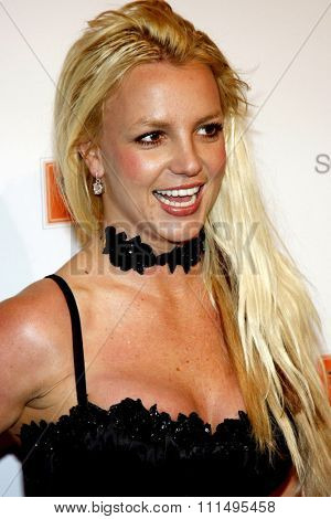 Britney Spears attends the Scandinavian Style Mansion Party held at the Private Residence in Bel Air, California, United States on December 1, 2007.