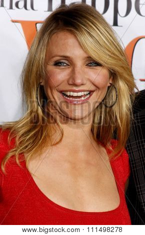 Cameron Diaz attends the World Premiere of