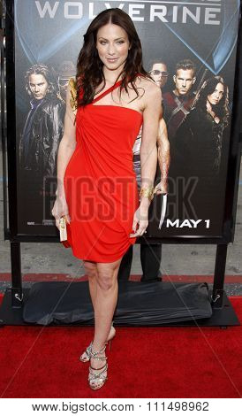Lynn Collins at the Los Angeles premiere of 'X-Men Origins: Wolverine' held at the Grauman's Chinese Theatre in Hollywood on April 28, 2009.