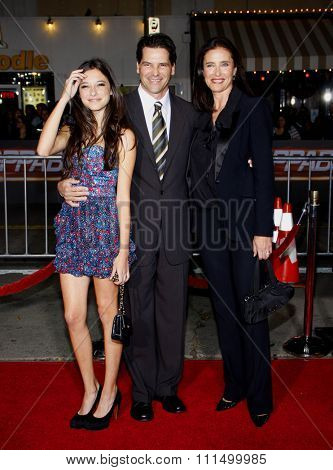 Mimi Rogers at the Los Angeles premiere of 'Unstoppable' held at the Regency Village Theatre in Westwood on October 26, 2010.