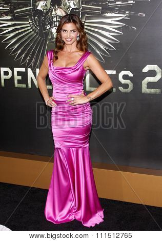 Charisma Carpenter at the Los Angeles premiere of 'The Expendables 2' held at the Grauman's Chinese Theatre in Hollywood on August 15, 2012.