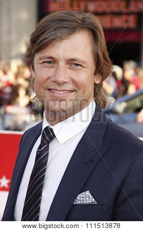 Grant Show at the Los Angeles premiere of 'Campaign