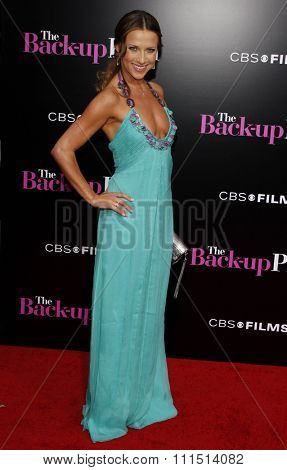 Edyta Sliwinska at the Los Angeles premiere of 'The Back-Up Plan' held at the Regency Village Theatre in Westwood on April 21, 2010.