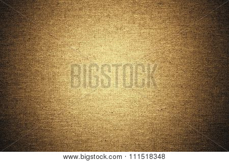 Yellow Background Linen Canvas Texture Brush Strokes, Abstract Gold Background Beige White Color Sof