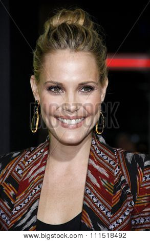 Leslie Bibb at the Los Angeles premiere of 'Seven Psychopaths' held at the Mann Bruin Theatre in Westwood on October 1, 2012.
