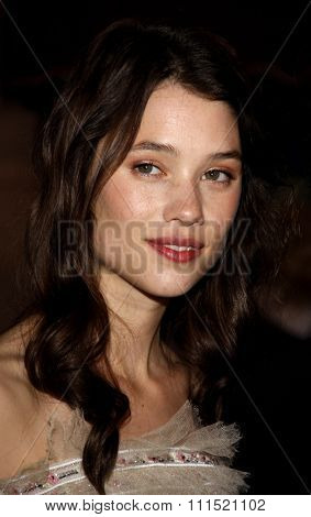 Astrid Berges-Frisbey at the Los Angeles premiere of 'Pirates Of The Caribbean: On Stranger Tides' held at the Disneyland in Anaheim on May 7, 2011.