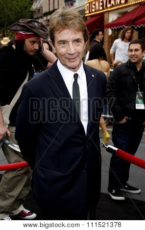 Martin Short at the Los Angeles premiere of 'Pirates Of The Caribbean: On Stranger Tides' held at the Disneyland in Anaheim on May 7, 2011.