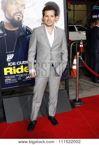 John Leguizamo at the Los Angeles premiere of