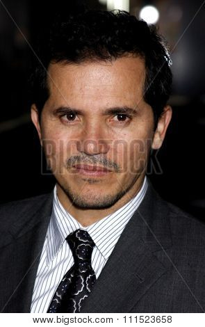 John Leguizamo at the Los Angeles premiere of 'Nothing Like The Holidays' held at the Grauman's Chinese Theater in Hollywood on December 3, 2008.