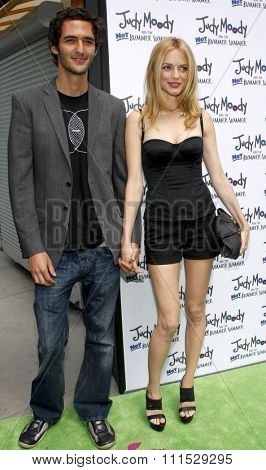 Heather Graham and Jason Silva at the Los Angeles premiere of 'Judy Moody And The Not Bummer Summer' held at the ArcLight Cinemas in Hollywood on June 4, 2011.