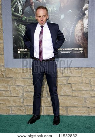 Ewen Bremner at the Los Angeles premiere of