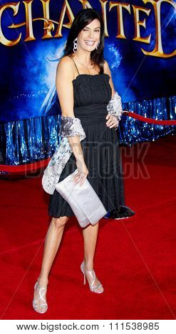Teri Hatcher attends the World Premiere of