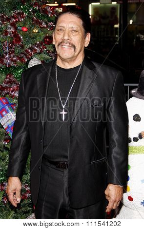 Danny Trejo at the Los Angeles premiere of 'A Very Harold & Kumar 3D Christmas' held at the Grauman's Chinese Theater in Hollywood on November 2, 2011.