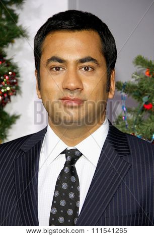 Kal Penn at the Los Angeles premiere of 'A Very Harold & Kumar 3D Christmas' held at the Grauman's Chinese Theater in Hollywood on November 2, 2011.