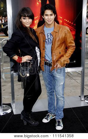 Booboo Stewart and Fivel Stewart at the Los Angeles premiere of 'A Nightmare On Elm Street' held at the Grauman's Chinese Theatre in Hollywood on April 27, 2010.