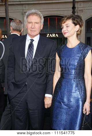 Harrison Ford and Calista Flockhart at the