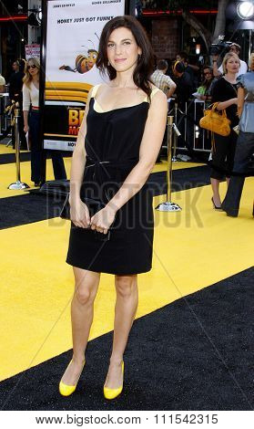 Jessica Seinfeld at the Los Angeles premiere of 'Bee' held at the Mann Bruin Theater in Westwood on October 28, 2007.