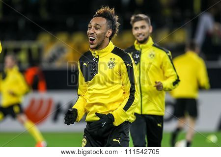 Uefa Europa League Match Between Borussia Dortmund Vs Paok