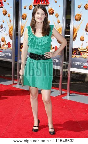 September 12, 2009. Cobie Smulders at the Los Angeles premiere of