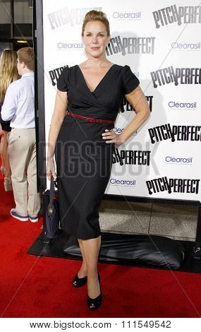 Elizabeth Perkins at the Los Angeles premiere of 'Pitch Perfect' held at the ArcLight Cinemas in Hollywood, USA on September 24, 2012.