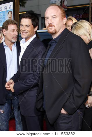 Louis C.K. and Rob Lowe at the Los Angeles premiere of 'The Invention of Lying' held at the Grauman's Chinese Theater in Hollywood, USA on September 21, 2009.