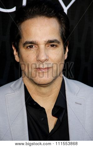 Yul Vazquez at the Los Angeles premiere of Starz Series 'Magic City' held at the DGA Theater in Hollywood, USA on March 20, 2012.