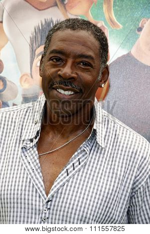Ernie Hudson at the Los Angeles premiere of 'ParaNorman' held at the Universal CityWalk in Universal City, USA on August 5, 2012.