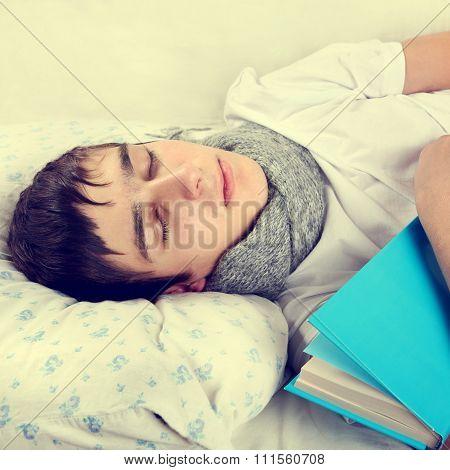 Man Sleep With A Book
