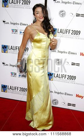 Yvette Yates at the 13th Annual Los Angeles Latino International Film Festival Opening Gala held at the Grauman's Chinese Theater in Hollywood, USA on October 11, 2009.