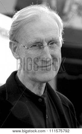 WESTWOOD, CA - JULY 07, 2004: James Cromwell at the World premiere of 'I, Robot' held at the Mann Village Theatre in Westwood, USA on July 7, 2004.