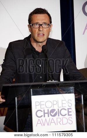BEVERLY HILLS, CA - NOVEMBER 15, 2012: Jason O'Mara at the People's Choice Awards 2013 Nominations held at the Paley Center in Beverly Hills, USA on November 15, 2012.