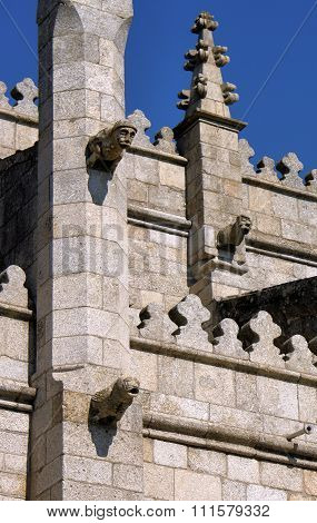 Old cathedral in Guarda Portugal