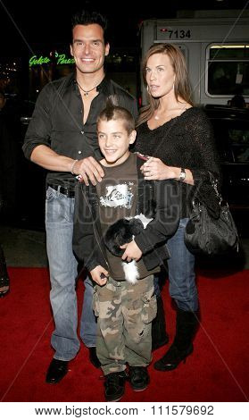 HOLLYWOOD, CA - FEBRUARY 02, 2006: Antonio Sabato Jr. at the World premiere of 'Firewall' held at the Grauman's Chinese Theatre in Hollywood, USA on February 2, 2006.