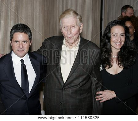 BEVERLY HILLS, CA - NOVEMBER 20, 2006: Brad Grey and Sumner Redstone at the 2006 Los Angeles Free Clinic Annual Dinner Gala held at the Beverly Hilton Hotel in Beverly Hills, USA on November 20, 2006.